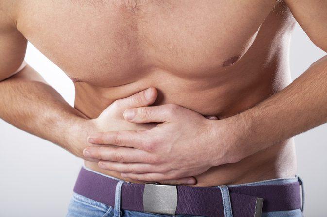 Durere abdominala inferioara la barbati: Cauze si tratamente naturiste